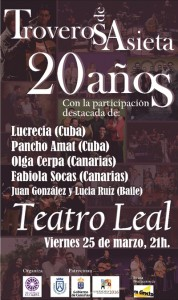 Troveros de Asieta - Teatro Leal