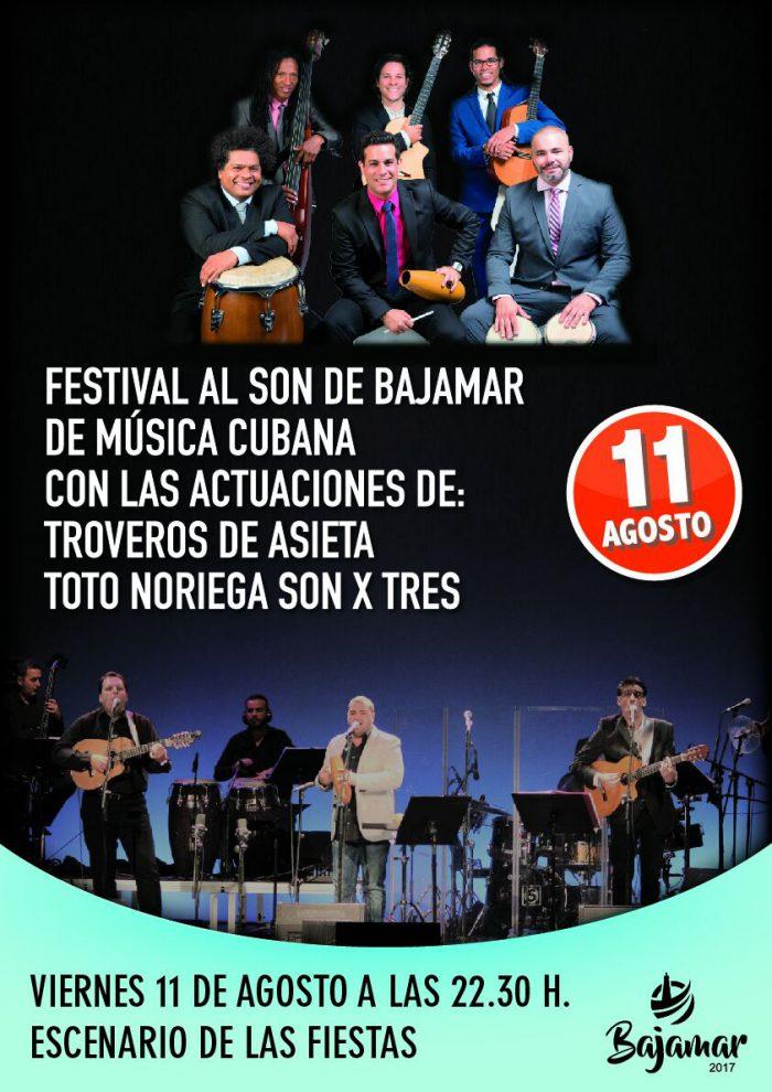 CARTEL DEL FESTIVAL 11 AGOSTO BAJAMAR
