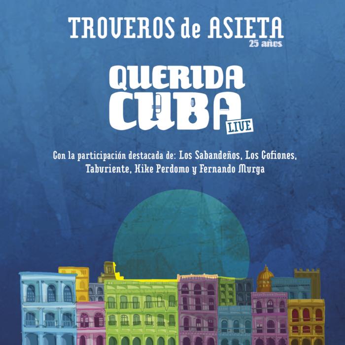Disco Troveros De Asieta Querida Cuba 2017